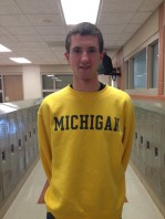 "Type of Runner: Long Distance Most Notable Memory: ""Hanging out with all of my teammates and enjoying the outdoors."" Plans: University of Michigan, possible running for club Stat: Ran a 16:20 5000m/3.11 miles According to MIPrepZone"